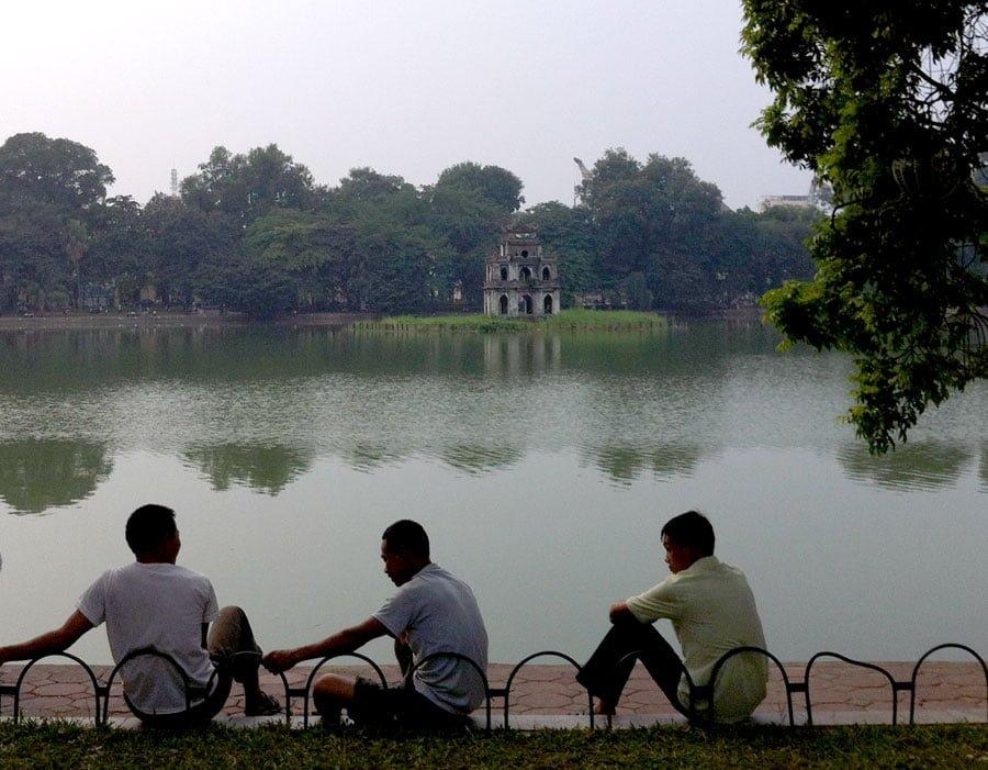 Vietnam Hanoi Hoan Kiem Lake