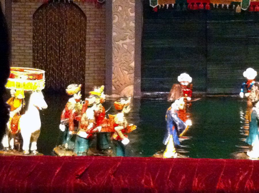 Vietnam Hanoi Thang Long Water Puppet