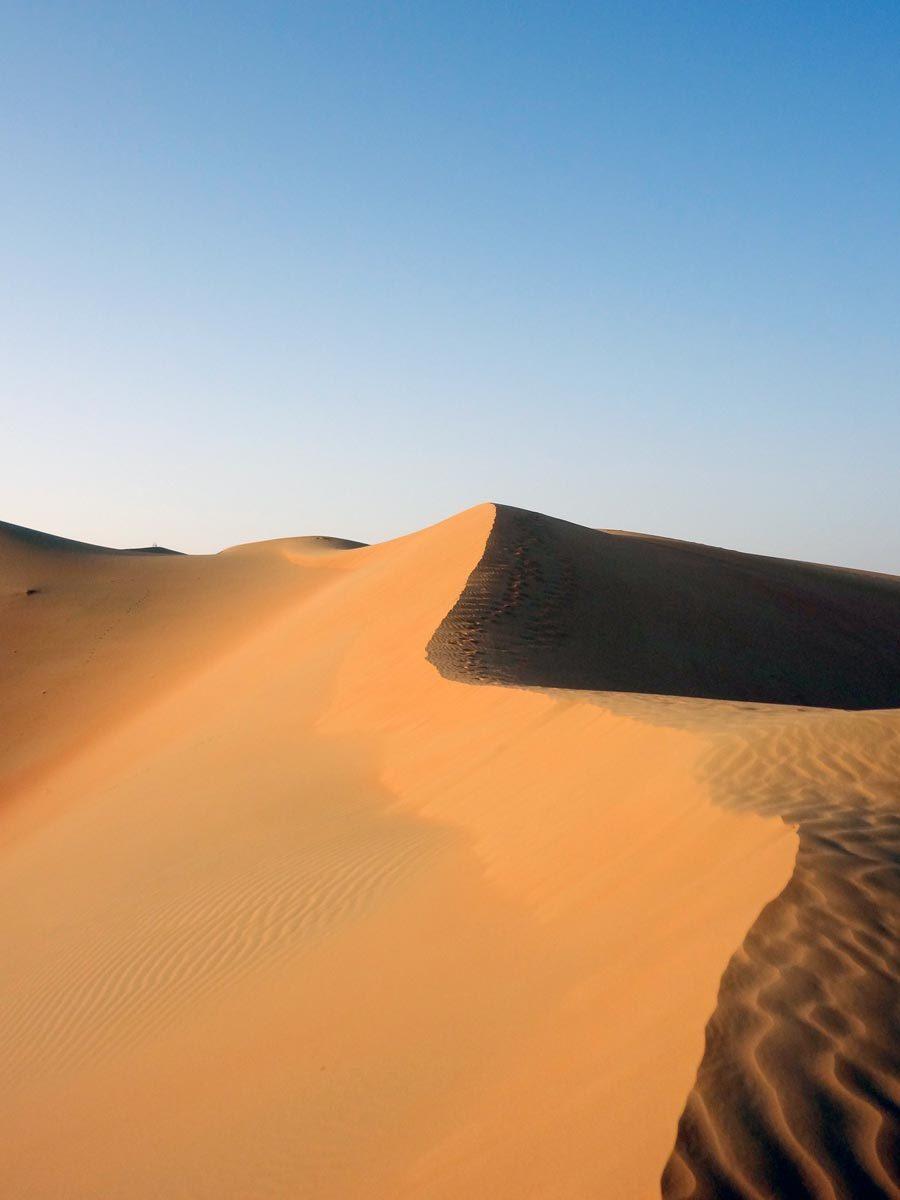 Qasr Al Sarab Sand Dune Edge