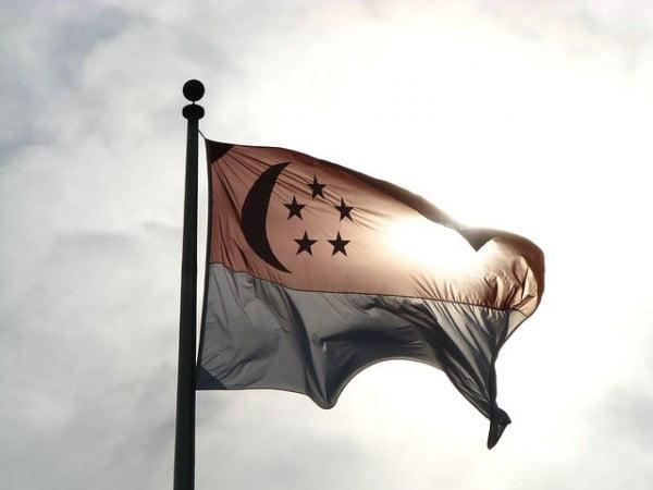 Singapore Flag by RaymondBPhotos