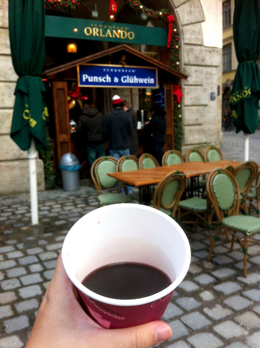 Munich Walking Tour Gluhwein Stop