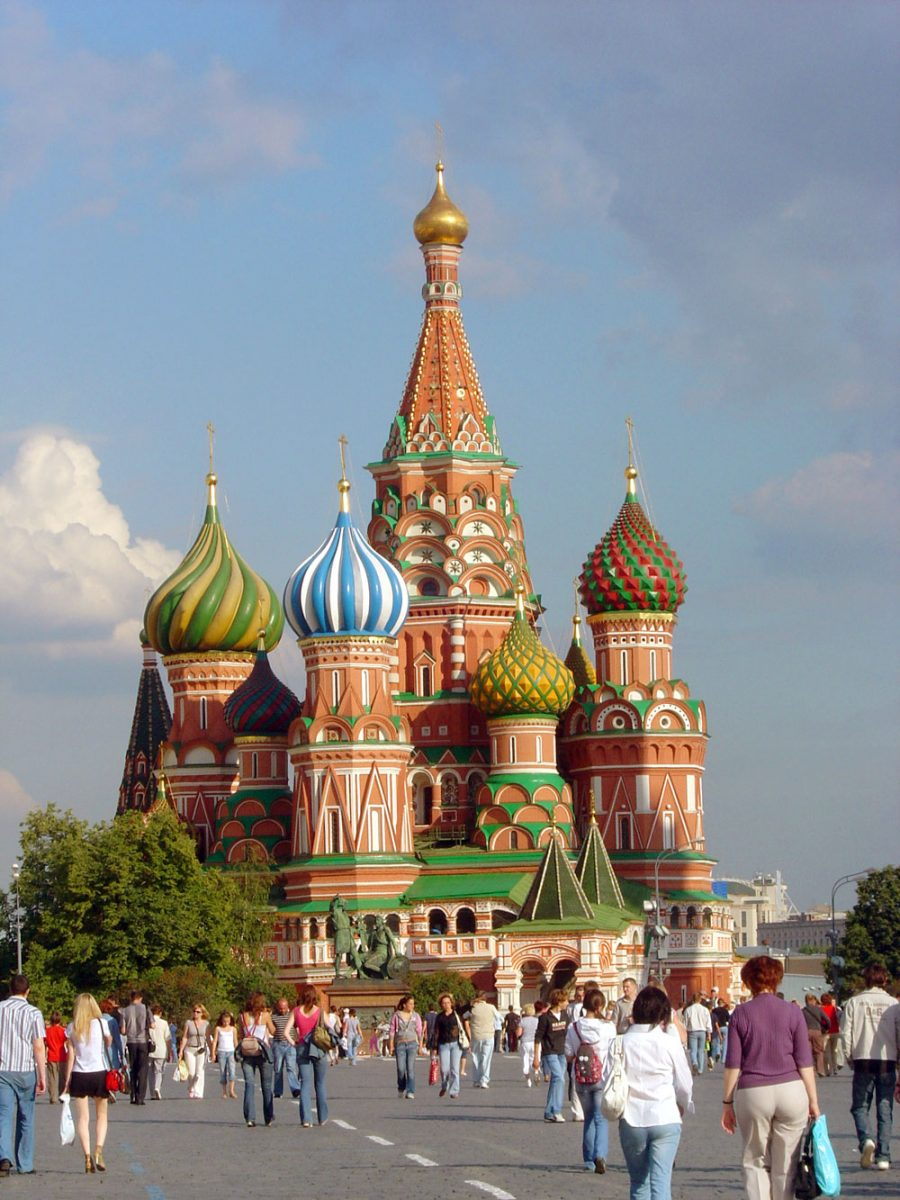 Moscow St Basils Cathedral