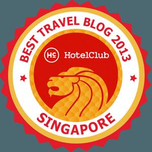 Best Travel Blog 2013 Singapore
