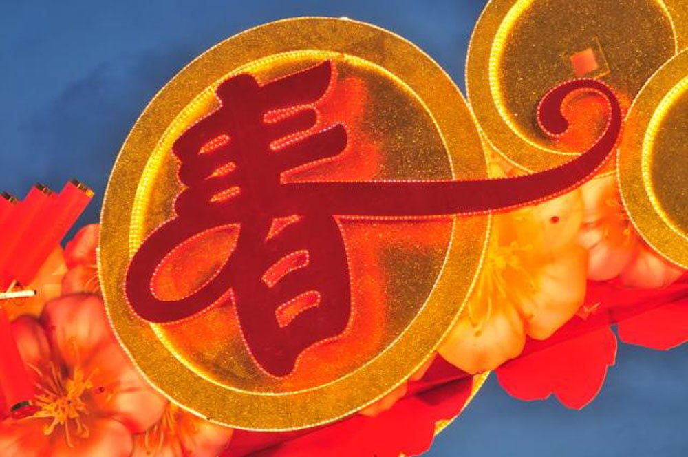 Singapore Chinese New Year Spring Sign STB