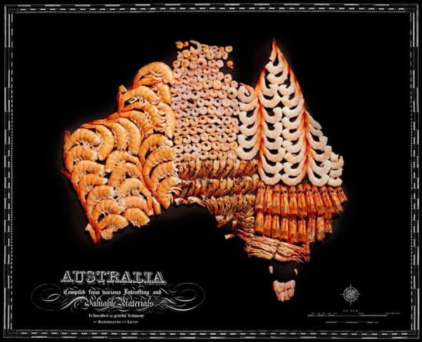 Food Maps by Henry Hargreaves and Caitlin Levin - Australia