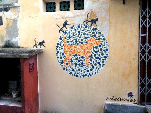 Penang Street Art - No Animal Discrimination Please