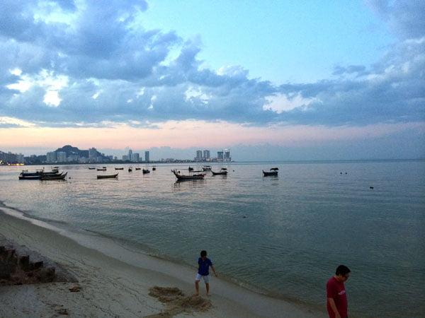 Penang Food - Northam Beach Cafe View