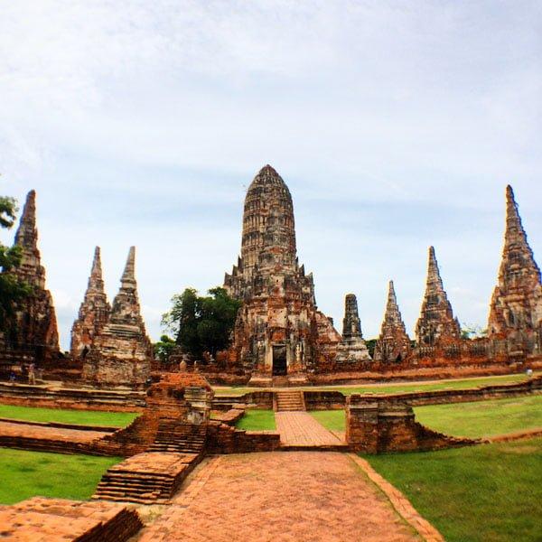 Ayuthaya - Wat Chaiwatanaram View