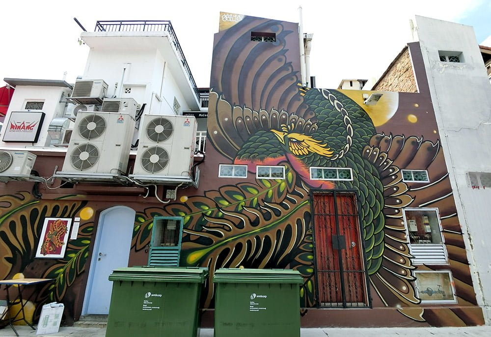 Singapore Street Art Gelam Gallery Sei10