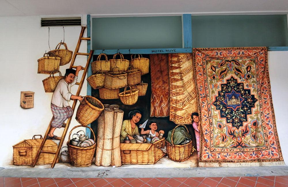 Singapore Street Art Hotel Nuve YipYC Kampong Gelam
