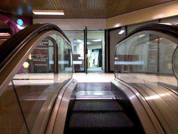 Eminent Takeover - Escalator Entrance