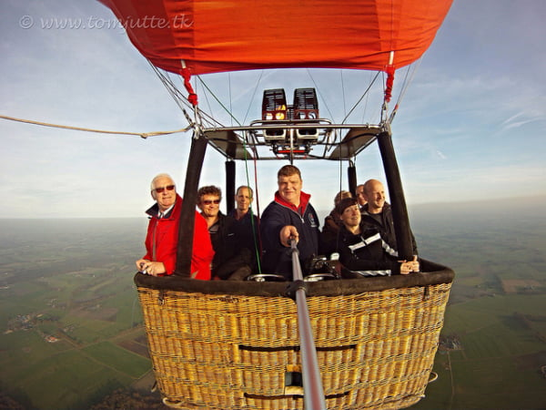 Travel at Home - Balloon Selfie