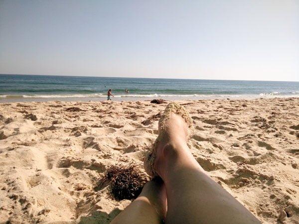 Portugal - Tavira Beach Feet