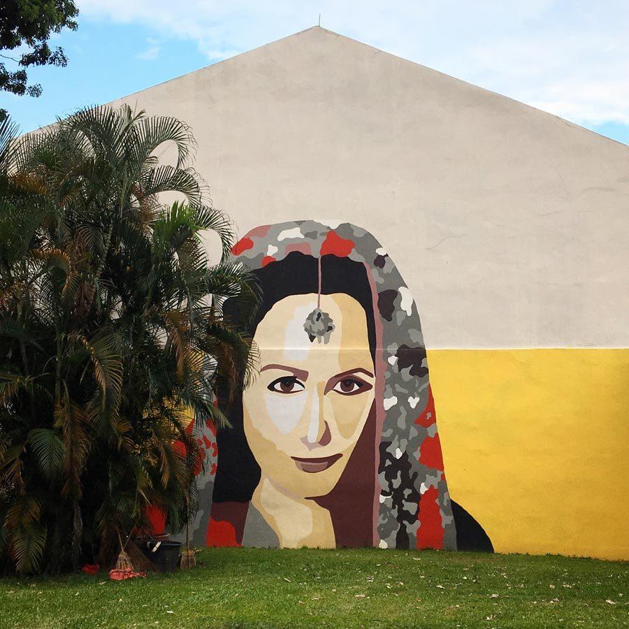 Singapore Street Art - Little India Dunlop Dyn