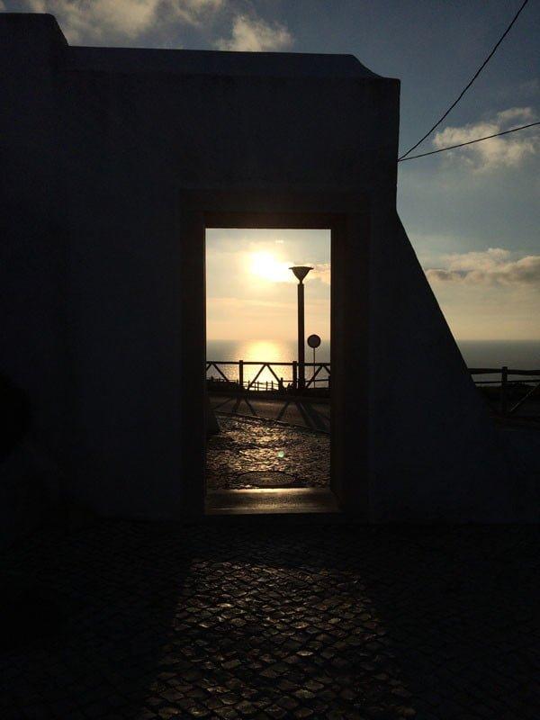 Portugal - Cabo da Roca Sunset Doorway