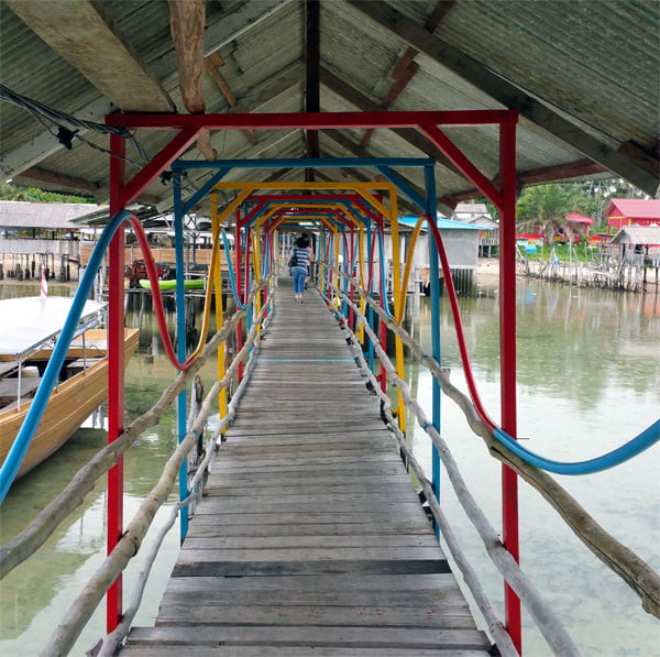 Bintan Kawal Jetty Colourful