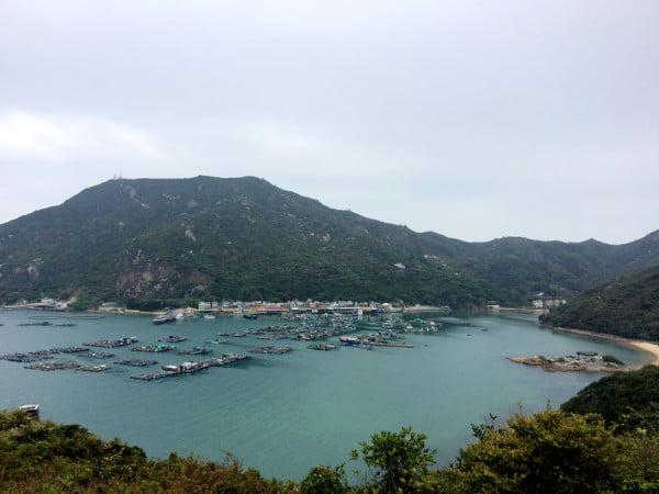 Hong Kong Lamma Island - Bay view