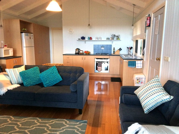 Gippsland Bear Gully Cottage Living Room