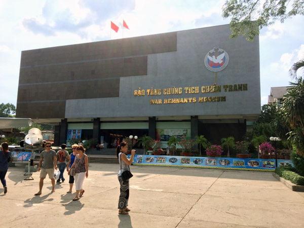Vietnam Ho Chi Minh War Remnants Museum Exterior
