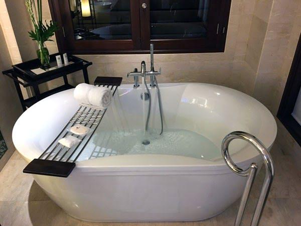 Bali St Regis Bathtub