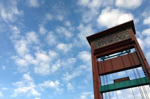 South Sumatra Palembang Ampera Bridge Tower Day