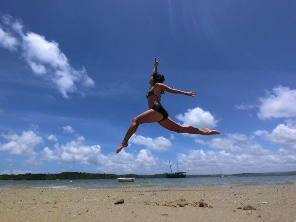 Kenya Kilifi Beach Jumpshot