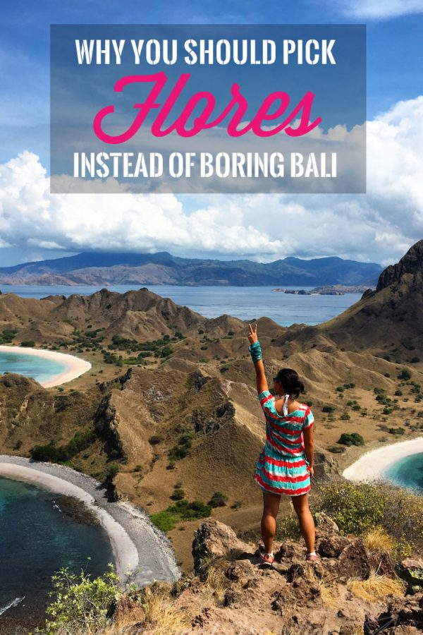 Pin it: Why you should pick Flores over Bali