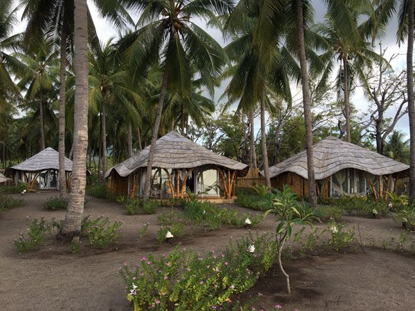 Flores Maumere Coconut Garden Huts