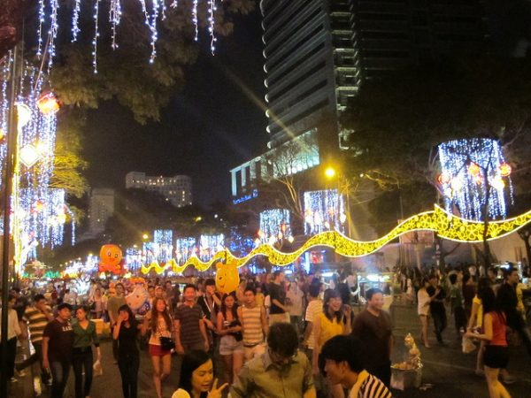 New Year's Eve Ho Chi Minh City by Christopher Porter