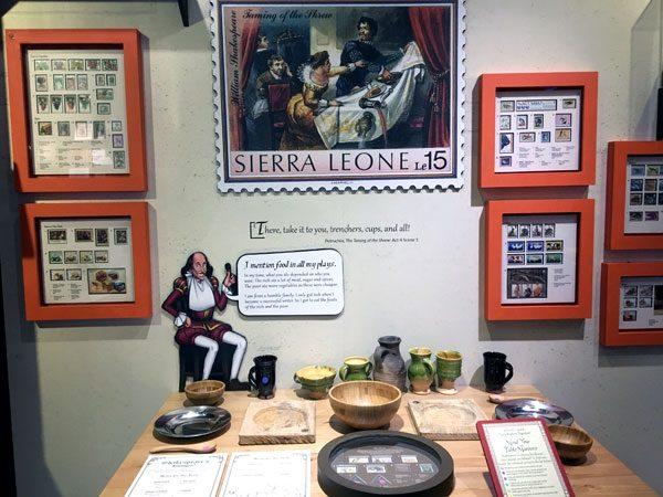 Singapore Philatelic Museum Shakespeare Exhibit