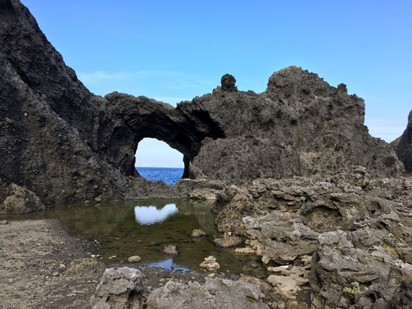Taiwan Lanyu Lovers Cave Arch