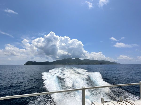 Taiwan Lanyu from Boat