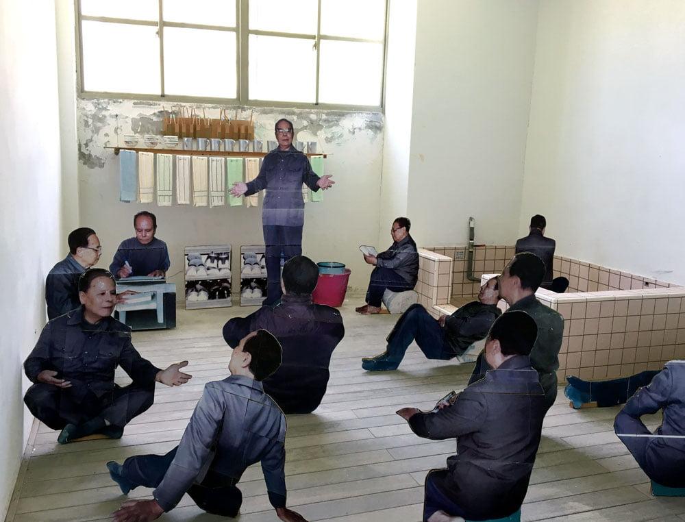 Taitung Lyudao Prison Diorama People