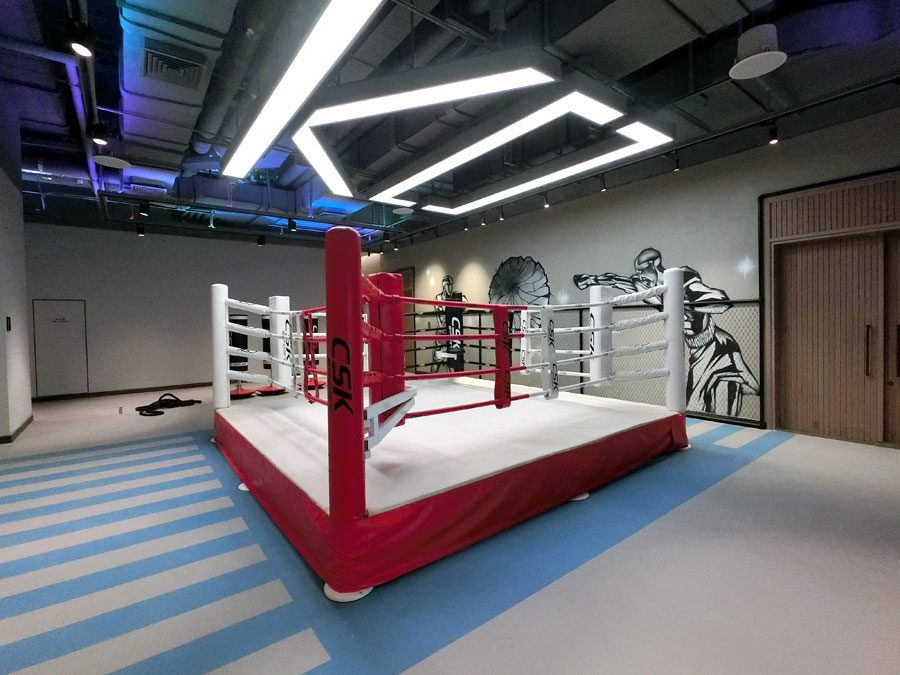 Beijing Hotel Jen Gym Boxing Ring-2