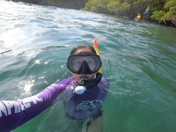 Galapagos Isabela Concha Perla Snorkeling