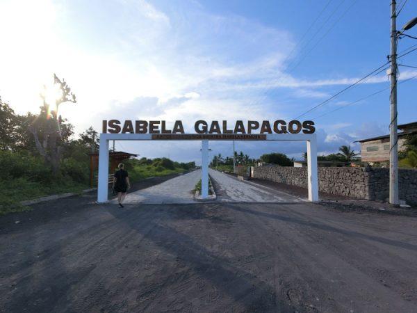 Galapagos Isabela Entrance