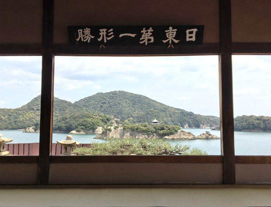 Tomonoura Fukuzenji Temple View