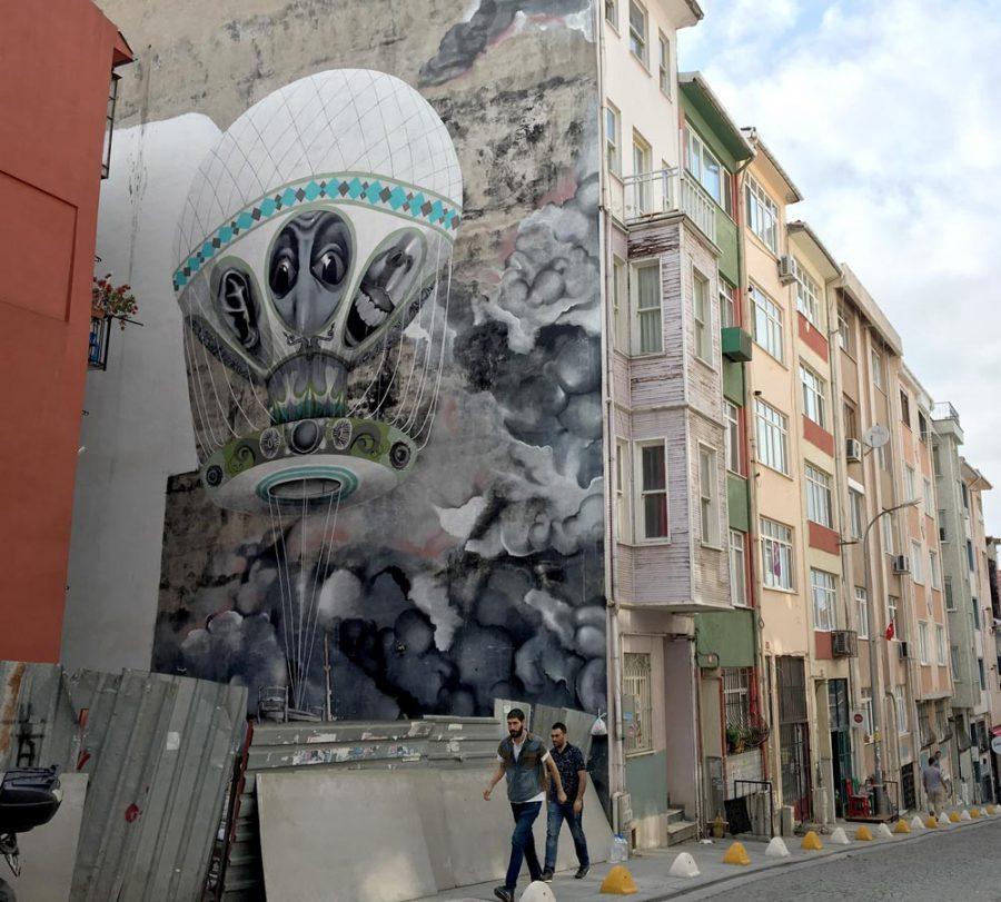 Istanbul Kadikoy Street Art Claudio Ethos