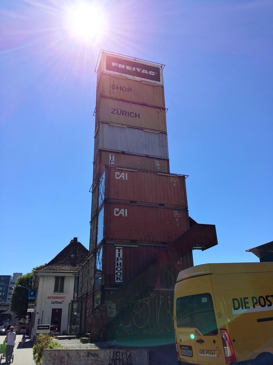 Zurich Freitag Tower