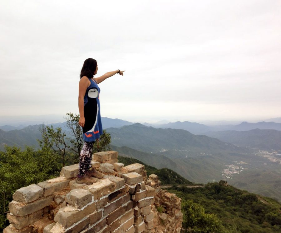 Beijing Mutianyu Great Wall Wild Top Me