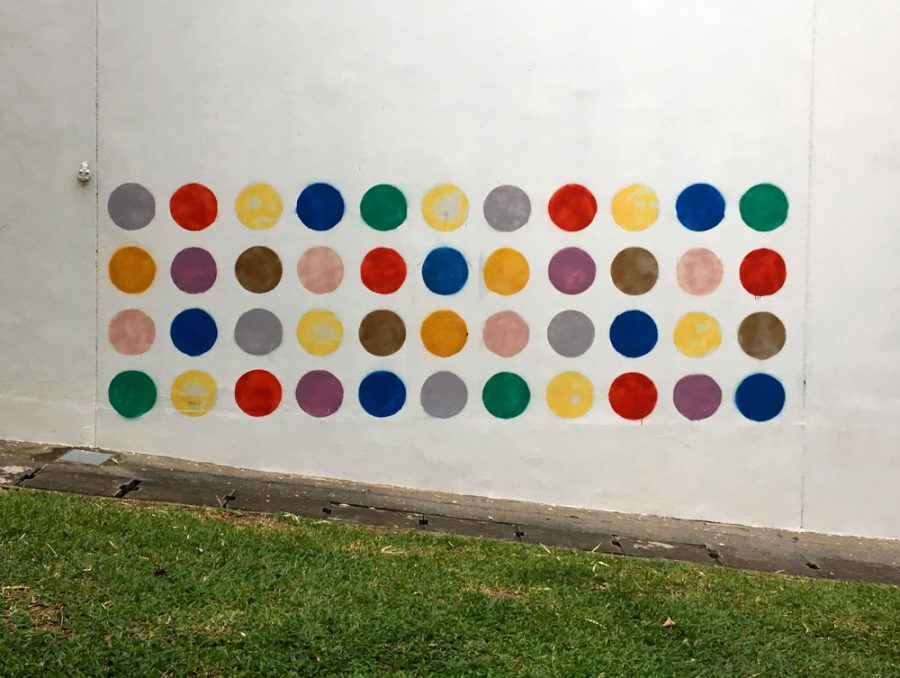 Singapore Street Art Duxton Road Coloured Dots
