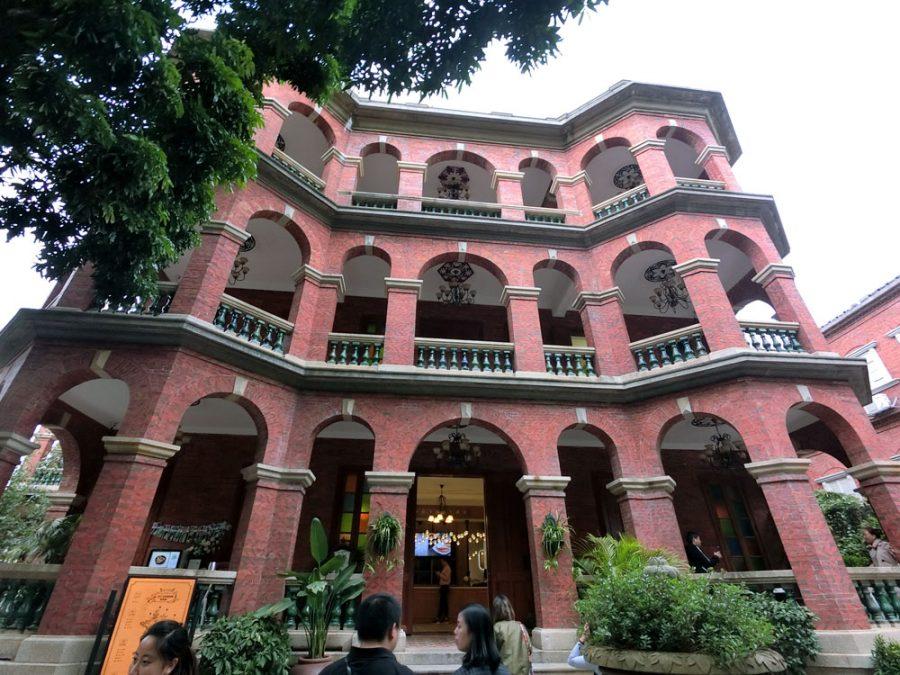 Xiamen Gulangyu Lee House Exterior