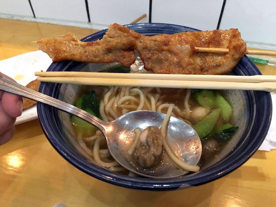Xiamen Zaoka Oyster Noodle Meat Skewer