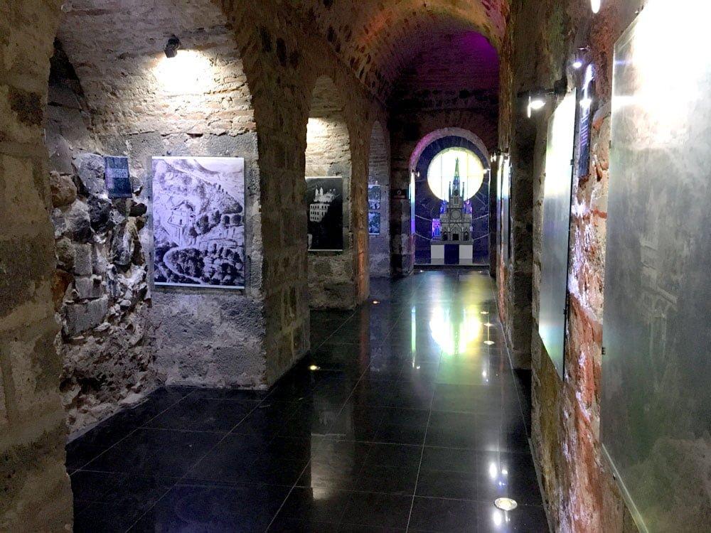 Colombia Ipiales Las Lajas Museum Exhibits