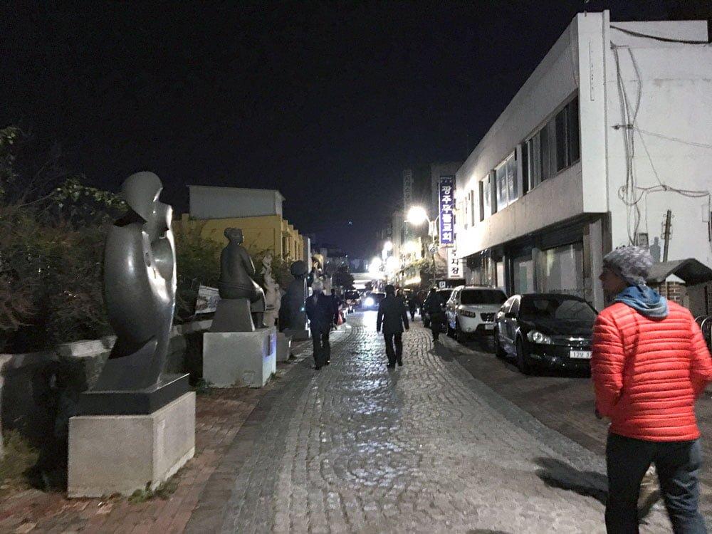 Gwangju Art Street Night