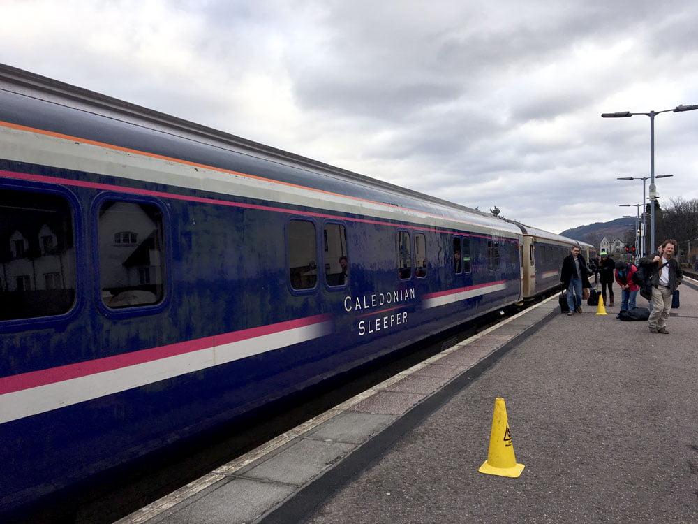 Scotland Caledonian Sleeper Train