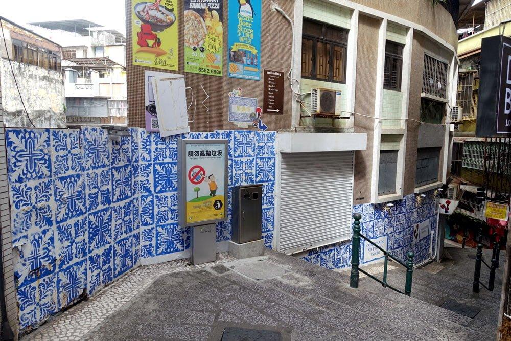 Macao Street Art Calcada Do Amparo