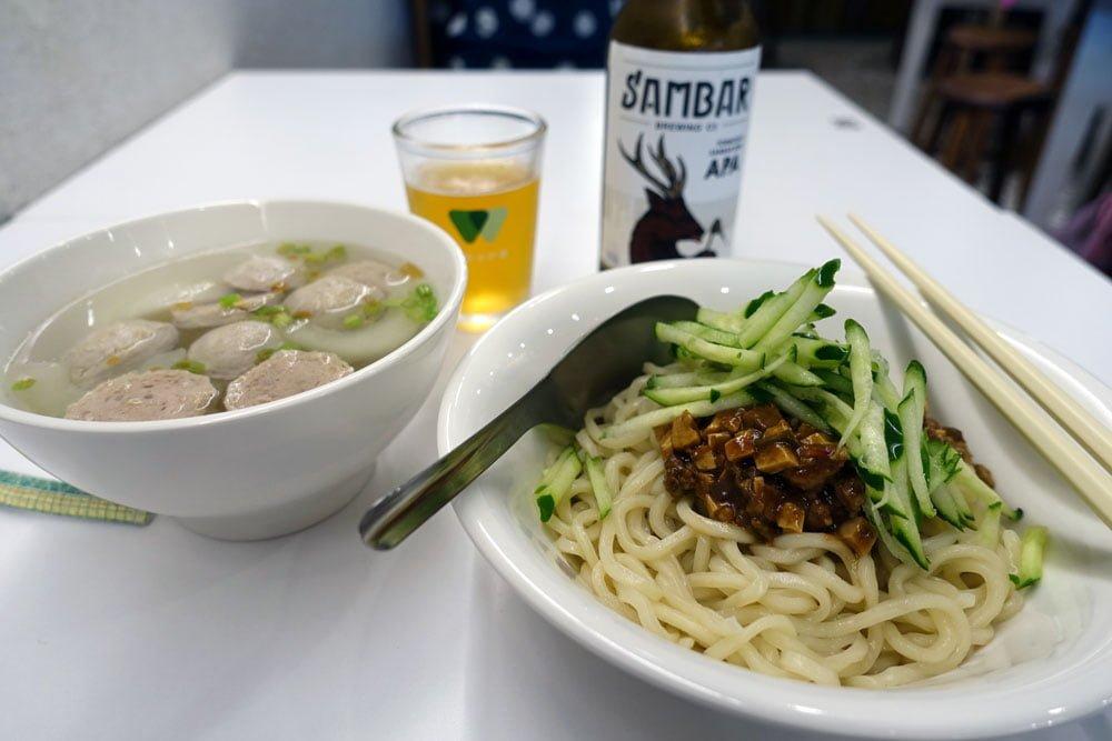 Taipei Dihua Street JMM Noodles