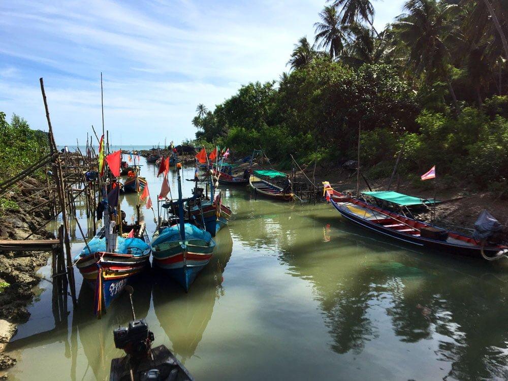 Khanom Nang Kam Boats