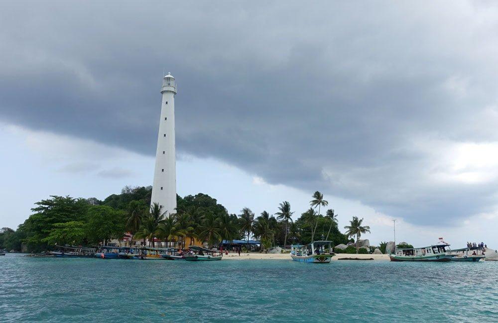 Belitung Lengkuas Island Lighthouse
